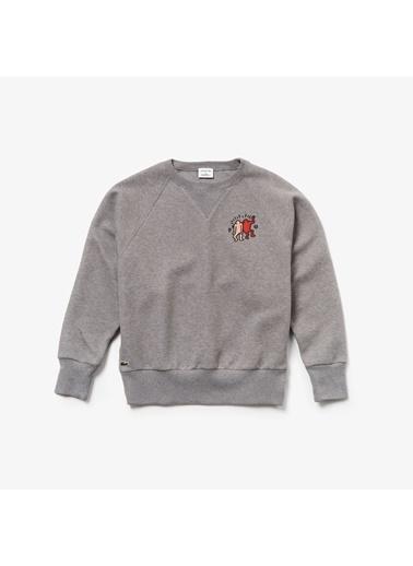 Lacoste Kadın  Sweatshirt SF4022.CCA Gri